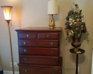 Mahogany Upright Dresser