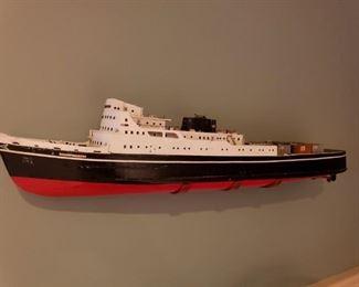 AMAZING 3 FOOT SHIP MODEL