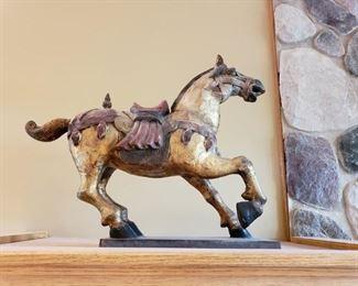 LARGE ASIAN HORSES