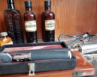 ANTIQUE QUACKERY AND APOTHACARY