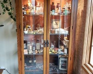 MISSION CABINET AND APOTHECARY  COLLECTIBLES
