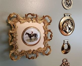 MANY EQUESTRIAN PIECES HERE