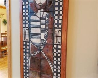 LARGE SCALE, SPECIAL COMMISSION  DOUG DELIND WORK