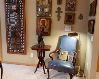 ANTIQUE RUSSIAN ICONS AND MORE
