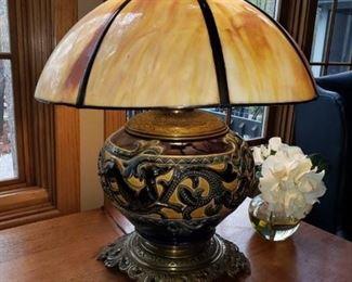 ANTIQUE OIL LAMP CONVERSION