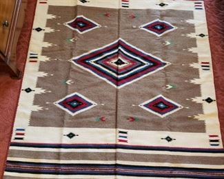 ANTIQUE INDIAN CHIMAYO BLANKET