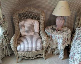 $60  Wicker chair