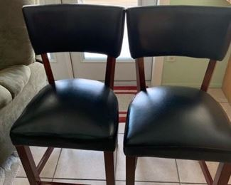 Pair of counter height stools,  Suggested $25