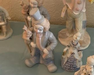 Assortment of Porcelain Figurines