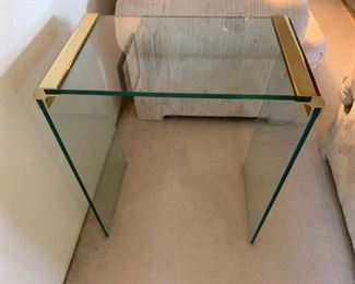 Side Accent Glass Table Suggested $15