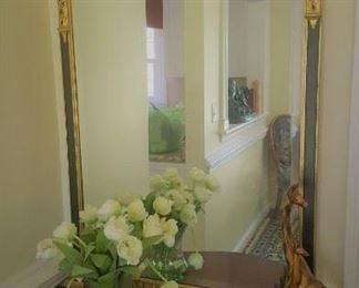 Beautiful beveled gilt mirror