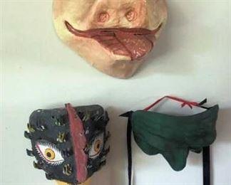 APT005 Three Collectible Masks