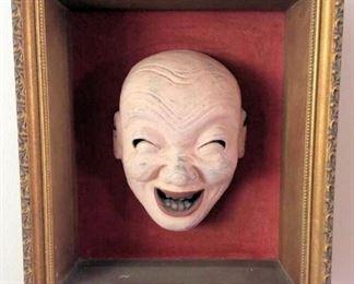 APT007 Framed Japanese Ceramic Mask