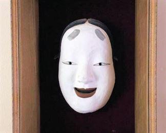 APT011 Framed Japanese Ceramic Mask