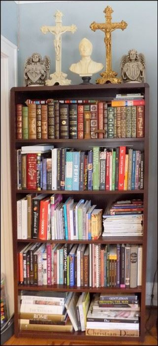 Part of the Book Collection.  Leatherbound Literature.  Fiction, Travel, Cooking, Poetry, Religion and Spirituality, Love and Enlightenment.