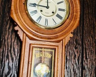 Vintage Sunbeam wall clock.  Works