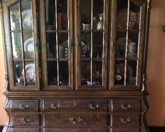 China cabinet by Drexel.  Brittany