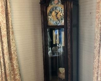Herschede grandfather clock.  Model 230.  Five tubes.  Runs great!  Beautiful condition.