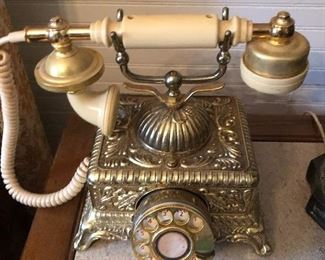 Vintage Ornate French style phone