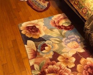 Butterfly and floral rugs
