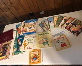 A few of the Golden Books.  Many more children's books.