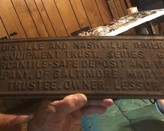 Louisville and Nashville Railroad Equipment Trust. Series 6