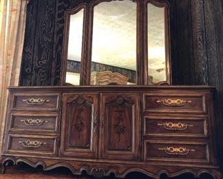 Drexel Heritage triple dresser