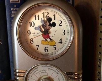 Mickey Mouse Seiko clock songs