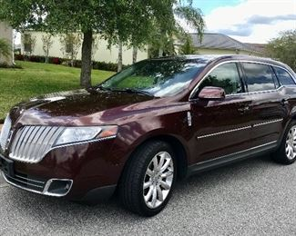 2010 Lincoln MKT.  It's a cream puff and loaded.  It has a brand new 2019 engine in it, built in February, and installed by Jenkins Lincoln Mercury.   The warranty transfers with the sale.  Clear title.  $14,500.