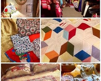 Handmade Quilts and yardage
