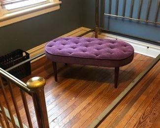 Solid vintage brass bed.