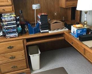 Executive Wood Desk