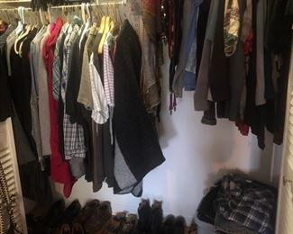 Men's and women's clothing and shoes!