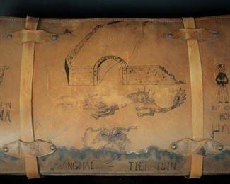 1920's USMC Leather Suitcase, WWI