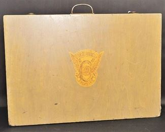 Vintage Colorado State Patrol Box