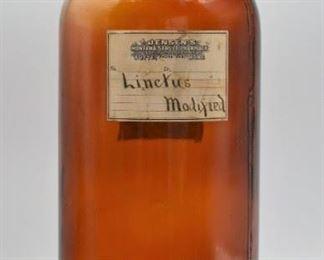 Apothecary Opium Bottle, 1 Gallon