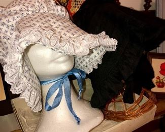 Antique reproduction bonnets