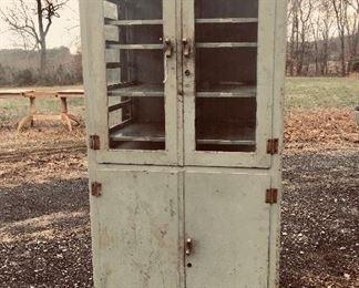 1930's Vanderbilt Surgical Metal Cabinet 1/2 off