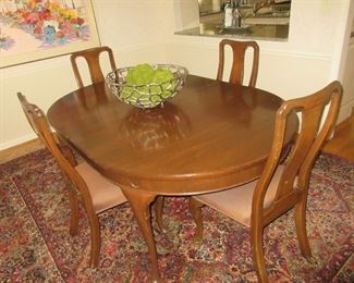 Kittinger table and chairs