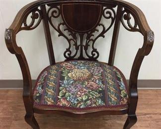 Antique Ladies Boot Chair.