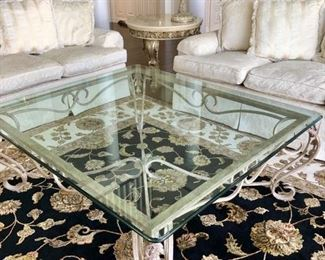 Great Design Glass Topped Coffee Table - it's large
