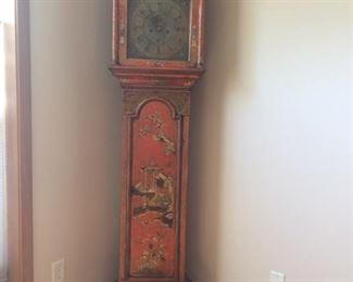 English George III Case Clock