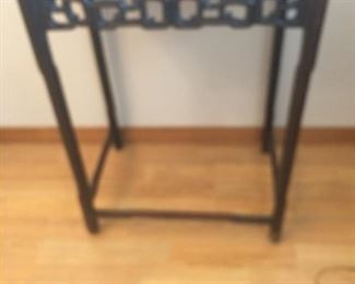 Indonesian Hand Carved Side Table