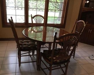 Nichols and Stone table with 6 chairs