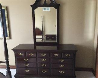 Thomasville double dresser