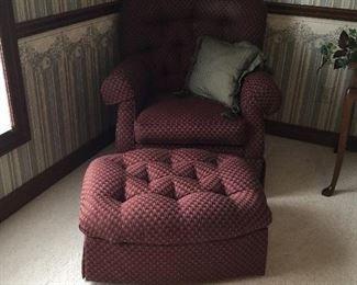 LaZBoy chair & ottoman
