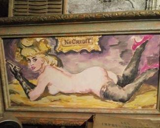 Vintage Nude Painting