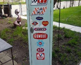 Vintage Gas Station Locker