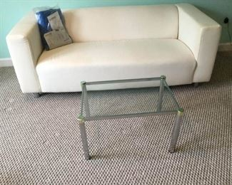 ''Klippan'' Couch with Table https://ctbids.com/#!/description/share/153286
