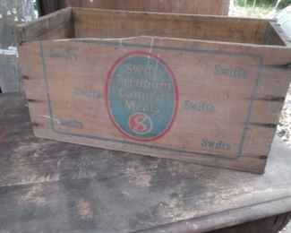 Multiple advertising crates